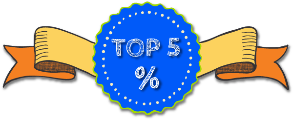 Top 5% of businesses