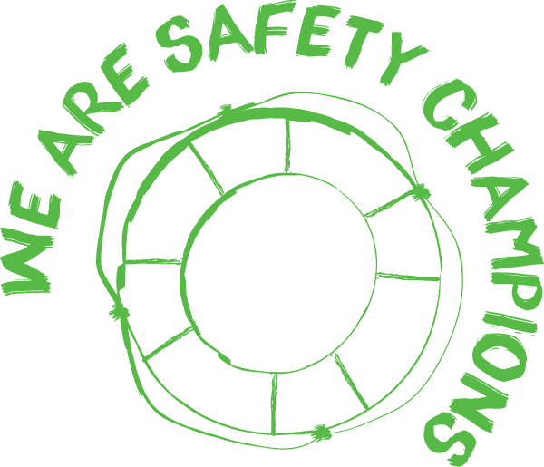 We are safety champions