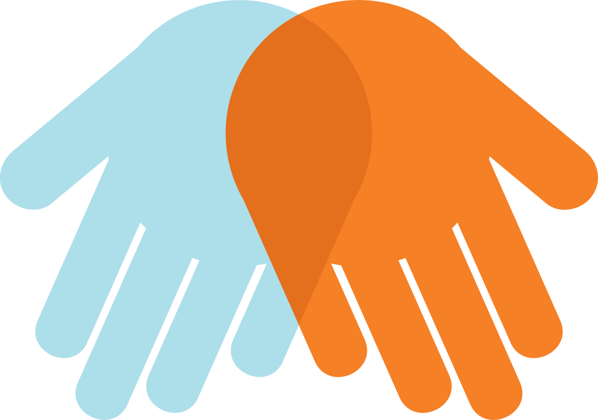 Helping hands logo
