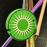 Silicone straw ornament