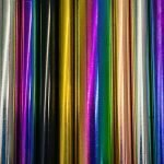 Reusable, multicolored metal straws