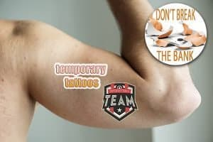 Custom temporary tattoos-branded merchandise from Creative Resources